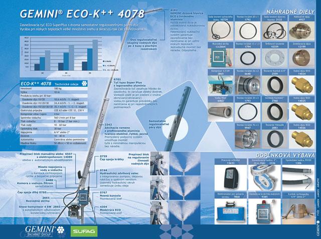 GEMINI ECO-K 4078